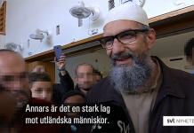 Imamen Abo Raad. Foto: Erik Kammerland, SVT