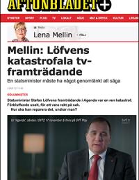 Aftonbladets Lena Melin kommenterar Stefan Löfven, 18 nov 2019.