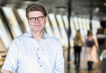 Björn Zoëga, sjukhusdirektör Karolinska universitetssjukhuset. Pressfoto: KS