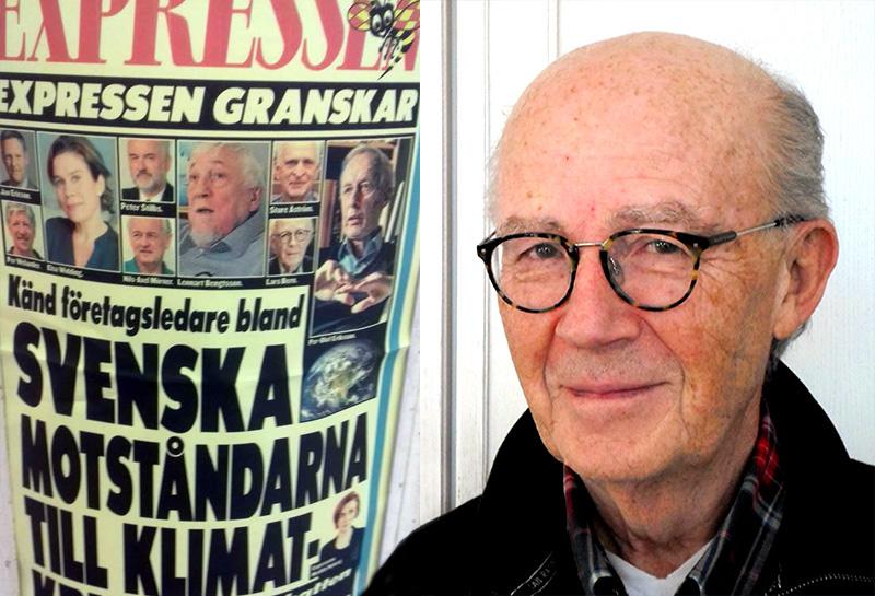 Expressen-löpet i slutet av oktober 2019. Foto på Lars Bern taget av NewsVoice redaktör.