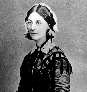 Florence Nightingale, 1920. Källa: United States Library of Congress. Licens: Public domain.