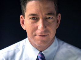 Glenn Greenwald, 2014. Foto: David dos Dantos. Licens: CC_BY_3.0, Wikimedia Commons