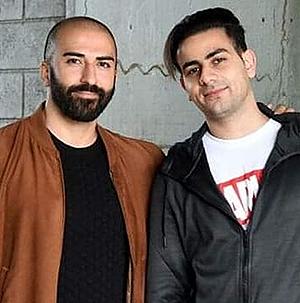 Hisham Kaine och Hasoni Van Aysan. Foto från Wahid Instagram.