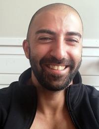 Hisham Kaine, selfie