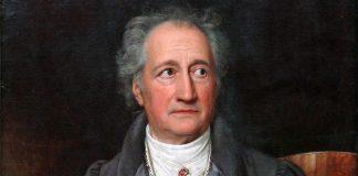 Johann Wolfgang von Goethe. Målning: Joseph Karl Stieler, 1828. Foto: Joseph Karl Stieler. Licens: Public Domain, Wikimedia
