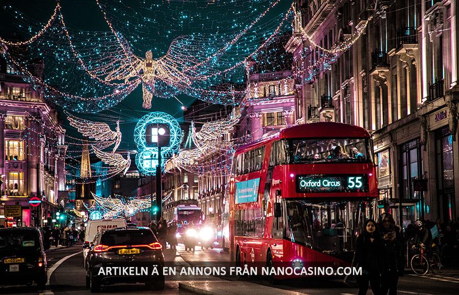 Att besöka London på vintern. Foto: Jamie Davies. Licens: Unsplash.com (free use)