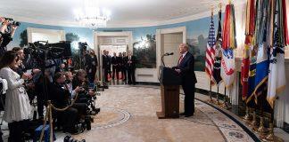 President Donald J. Trump, okt 2019. Foto: Shealah Craighead, Public domain