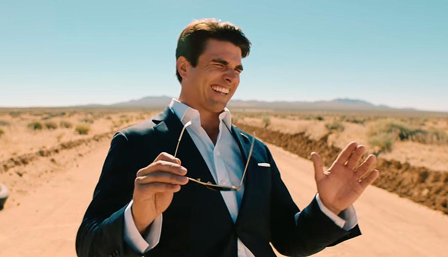 Miles Fisher imiterar Tom Cruise. Foto: Miles Fisher