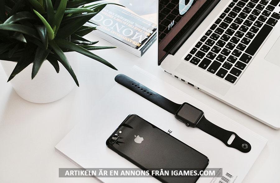 Apples produkter. Foto: Igor Son. Licens: Unsplash.com