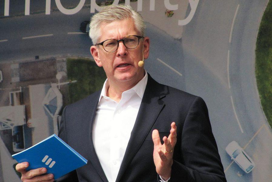 Börje Ekholm, VD för LM Ericsson (2019). Foto: Ulf Klingström. Licens: CC BY-SA 4.0, Wikimedia