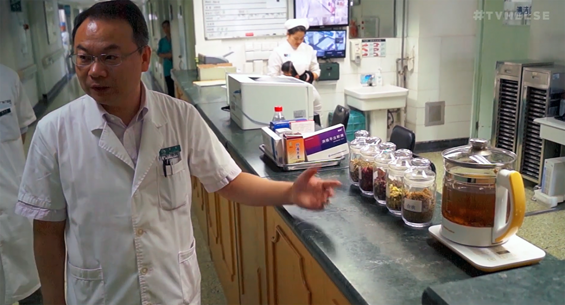 Dr Peiwen Li, Gaung-anmen Hospital. Foto: Arnt-Olav Enger,TV Helse, Norge