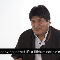 Evo Morales dec 2019 Foto: The Intercept