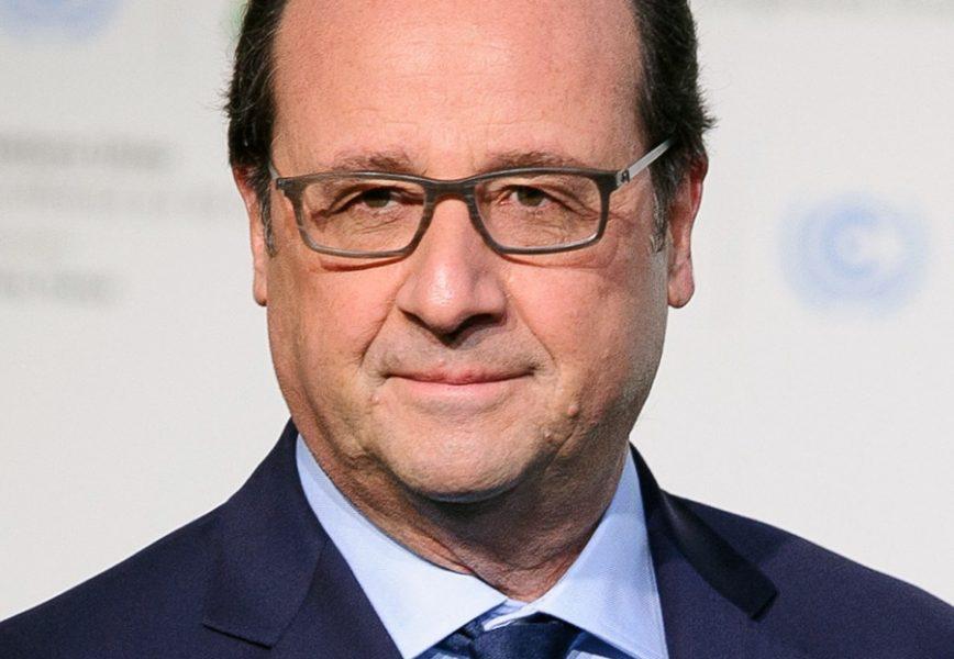François Hollande, 2015. Foto: COP Paris. Licens: CC0 (Public Domain)