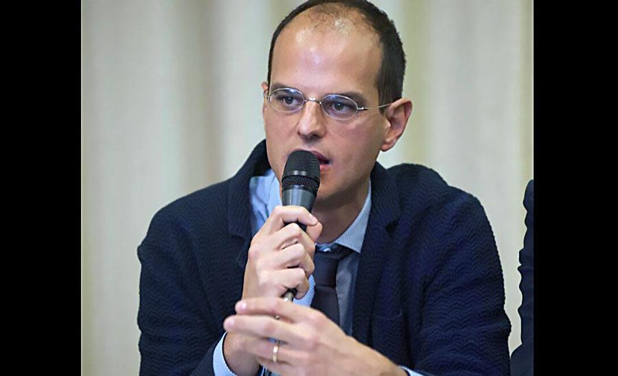 Giulio Meotti - Foto från Meottis privata Facebook-profil