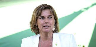 Isabella Lövin, Almedalsveckan 7 aug 2016. Foto: News Øresund, Wikimedia Commons