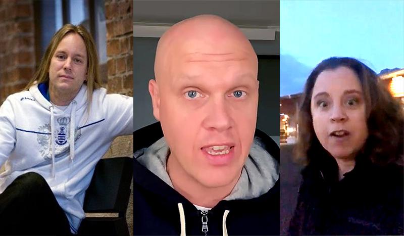 Tommy Svensson, Förvaltningschef (Trollhättan pressfoto), Joakim Lamotte (selfie), Paula Pelli, kulturchef (selfie).