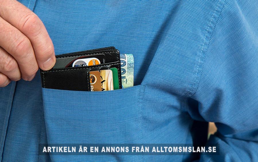 Knappast kontantfritt 2023 i Sverige. Foto: Steve Buissinne. Licens: Pixabay.com