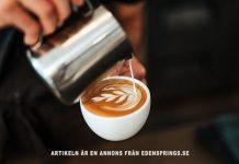 Edensprings kaffemaskiner. Foto: Tyler Nix. Licens: Unsplash.com