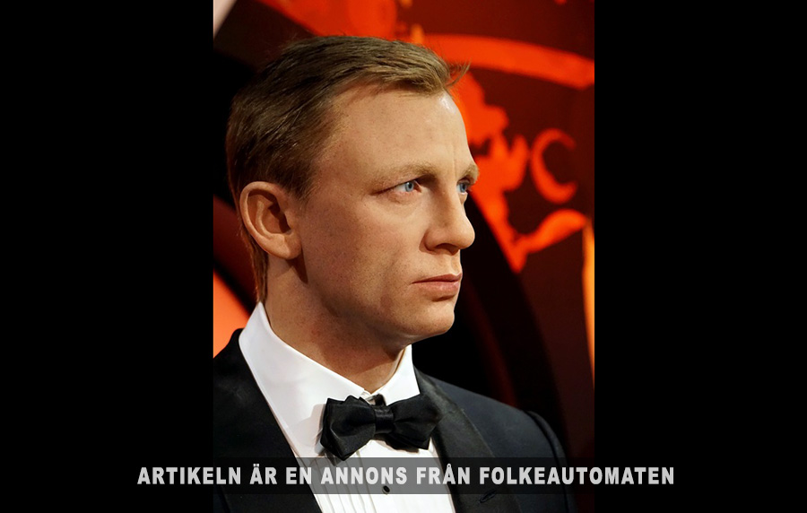 Folkeautomaten, James Bond. Licens: public domain, PXhere.com