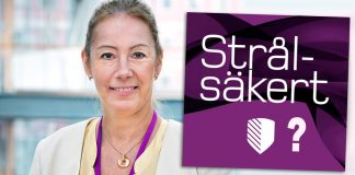 Nina Cromnier, GD på Strålsäkerhetsmyndigheten. Pressfoto: Hans Alm.