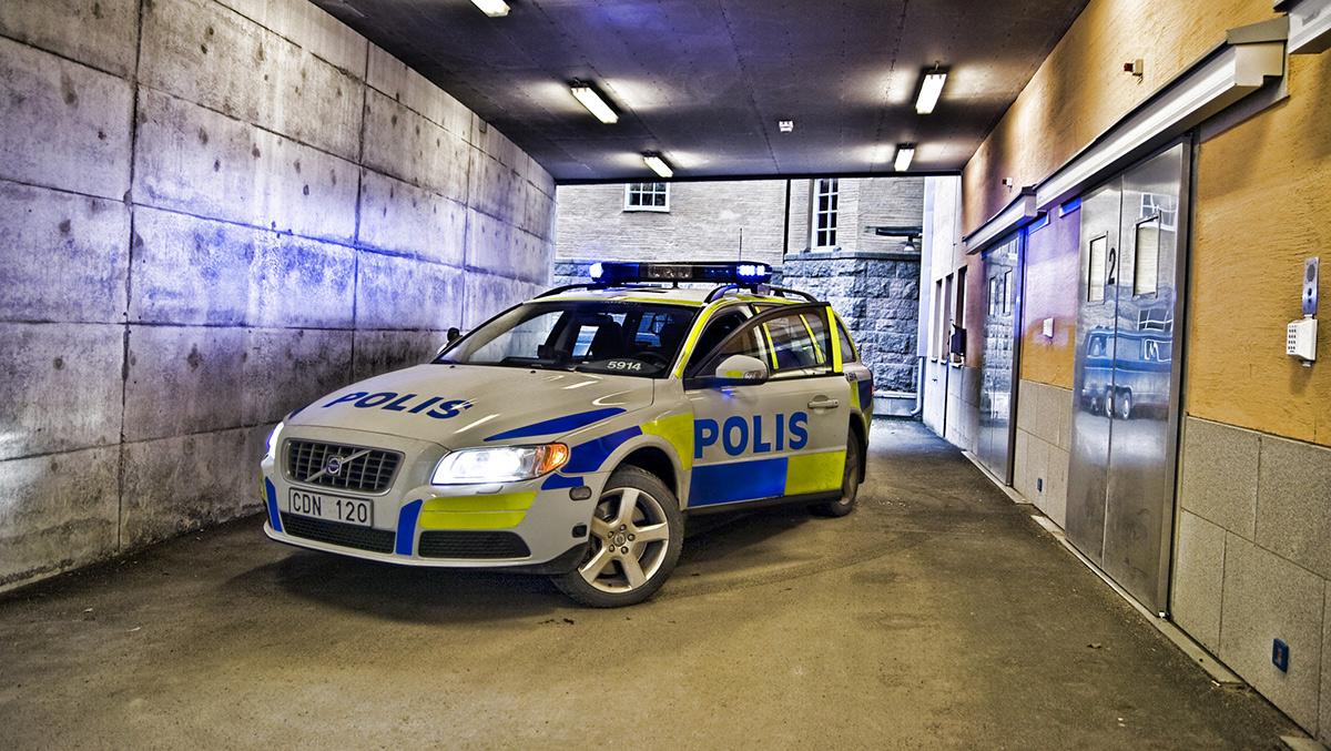Svenska polisen. Licens: redaktionell, Mostphotos.se
