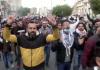 Baghdad protests den 24 jan 2020. Foto: AlJazeera.com
