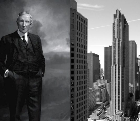 John D. Rockefeller och Rockefeller Center i New York