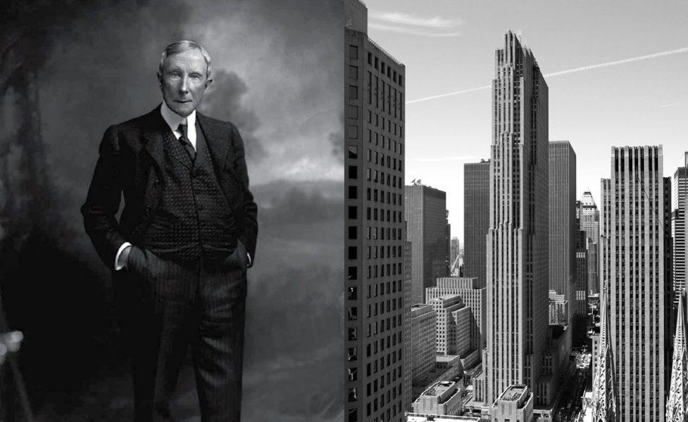 John D. Rockefeller och Rockefeller Center i New York