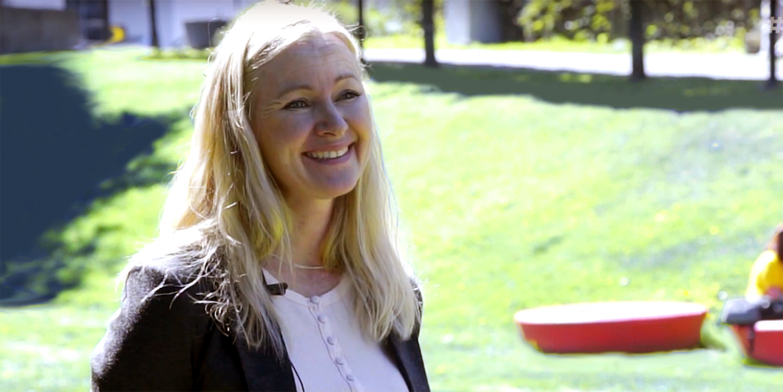 Linda Fjelddalen, 2020. Foto: Arnt-Olav Enger, TV Hälsa