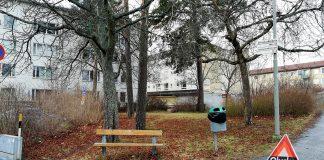 Loviselundsvägen Vällingby 12 jan 2020. Bild: NewsVoice.se