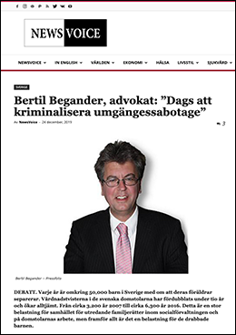 NewsVoice med Bertil Begander