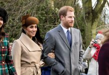 Prins Harry och hertiginnan MeghanMarkle, 2017. Foto: Mark Jones. Licens: CC BY 2.0