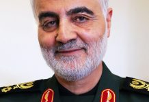 General Qasem Soleimani, Iran. Licens: CC BY 4.0, Wikimedia Commons