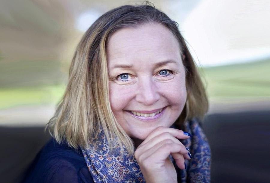 Susanne Hydén om Relationsvåld. Foto: Helena Kyrk