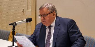Den ryska ambassören i Sverige: Viktor Tatarintsev. Pressfoto från ryska ambassaden, Stockholm.