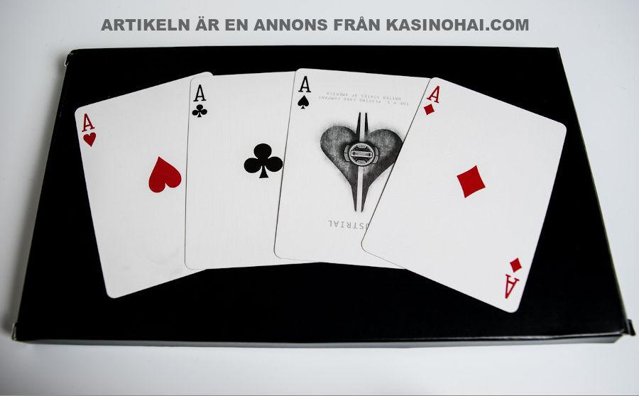 Blackjack är ett av de populäraste traditionella casinospelen. Foto Pexels.com(free use)