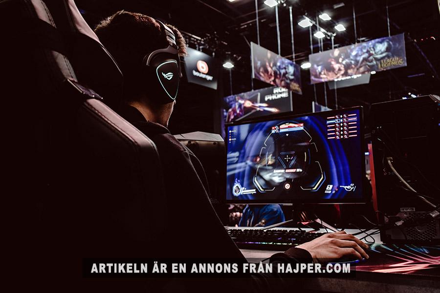 E-sport har blivit mainstream i Sverige. Foto: Florian Olivo. Licens: Unsplash.com