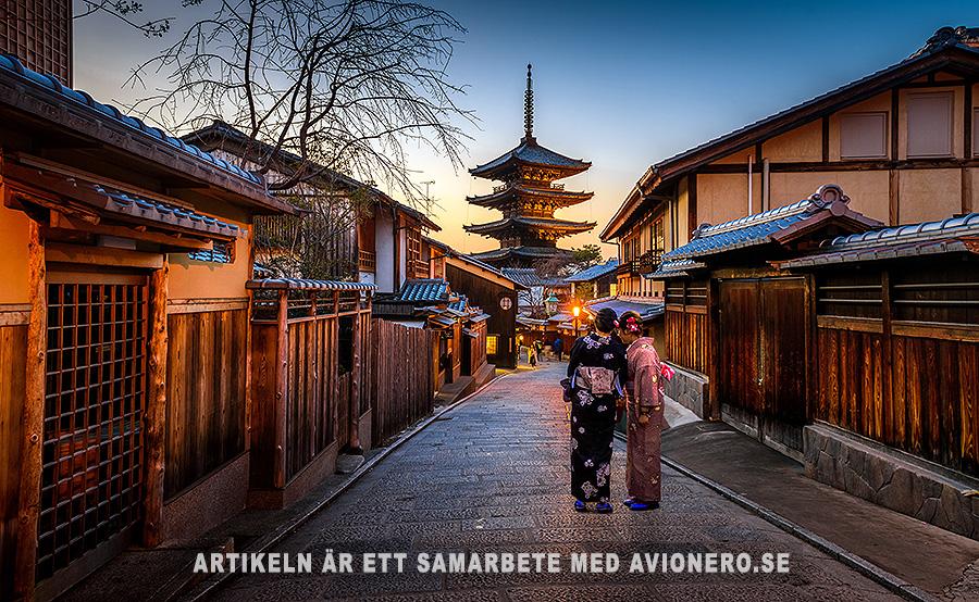 Medeltida stad i Japan. Foto: Sorasak. Licens: Unsplash.com