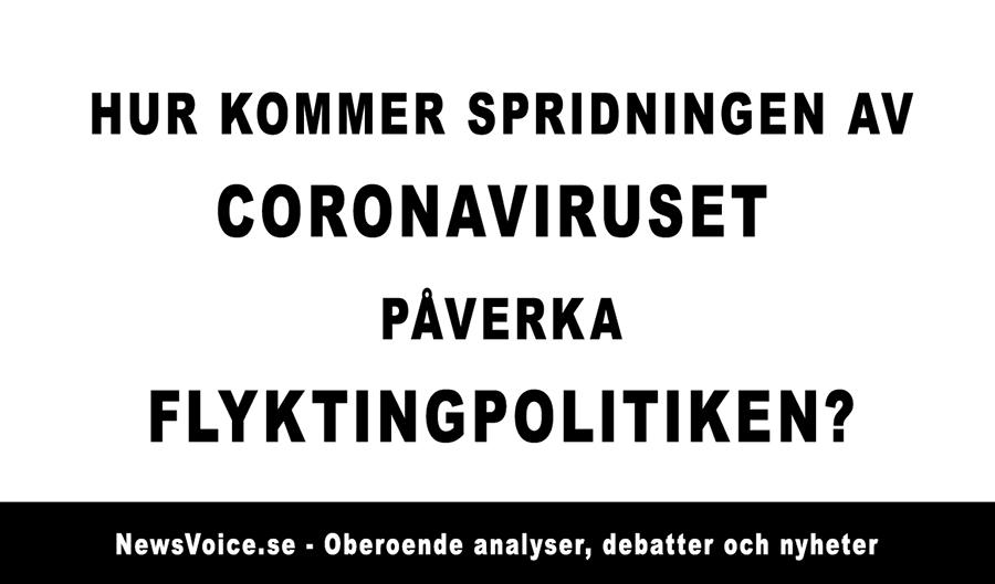 Coronoavirusflyktingar - Coronaflyktingar - Covid19flyktingar