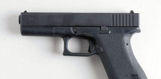 Glock 17. Foto: Askild Antonsen. Licens: CC BY 2.0, Wikimedia Commons
