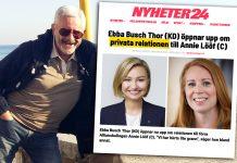 Jan Norberg kommentarer valet 2022. Foto och montage: NewsVoice.