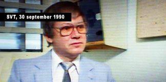 Lars Tingström, 1990. Bild: NewsVoice, baserat på skärmdump från SVT.se