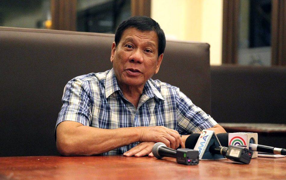 President Rodrigo Duterte, 2016. Foto: Presidential Communications Operations Office. Licens: Public Domain