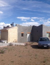 Robert Hastings home in New Mexico,US. Own work