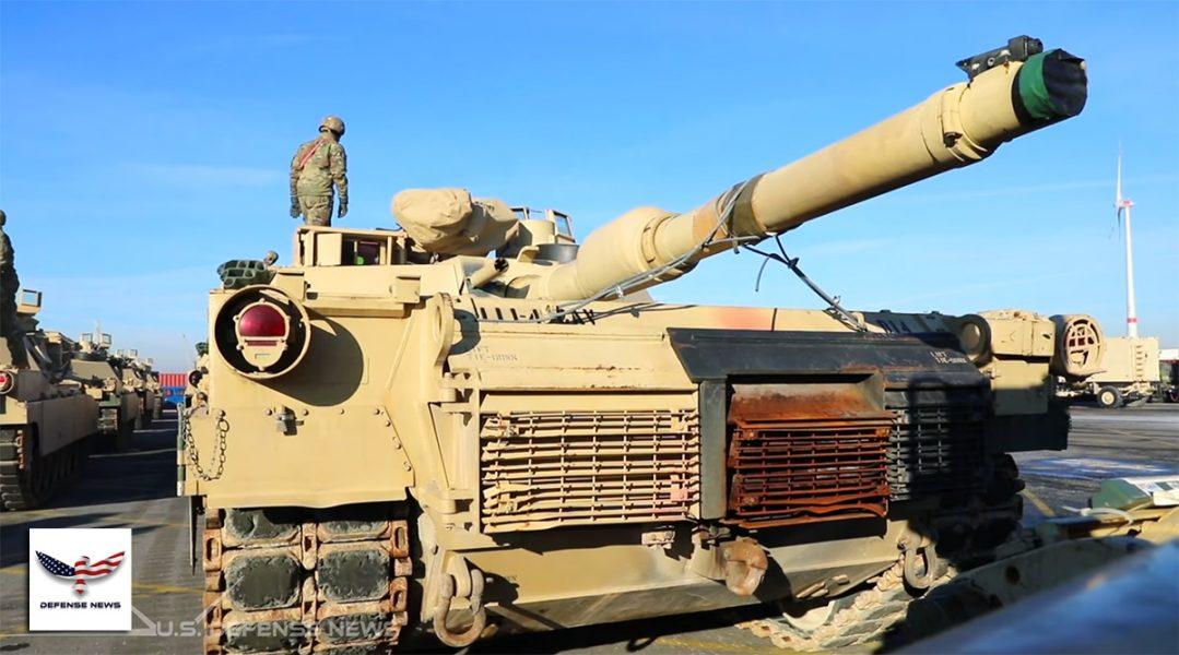Amerikansk stridsvagn, feb 2020. Foto: US Defense News.