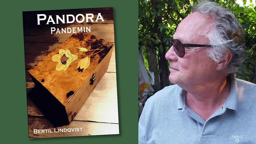 Bertil Lindqvist och boken Pandorapandemin