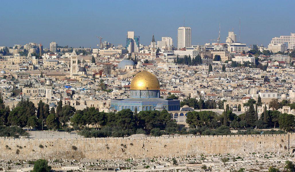 Jerusalem. Foto: Berthold Werner. Licens: Public Domain