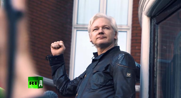 """RT:s dokumentär """"The Assange Story"""" om Julian Assange och Wikileaks"""