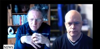 Michael Zazzio och Torbjörn Sassersson, Skype-intervju 8 mars 2020