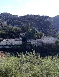 Oppède, Provence, Frankrike (feb 2020). Foto: Torbjörn Sassersson